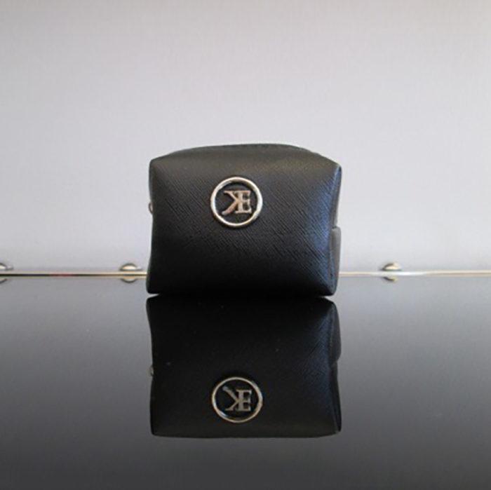 Black Makeup Bag