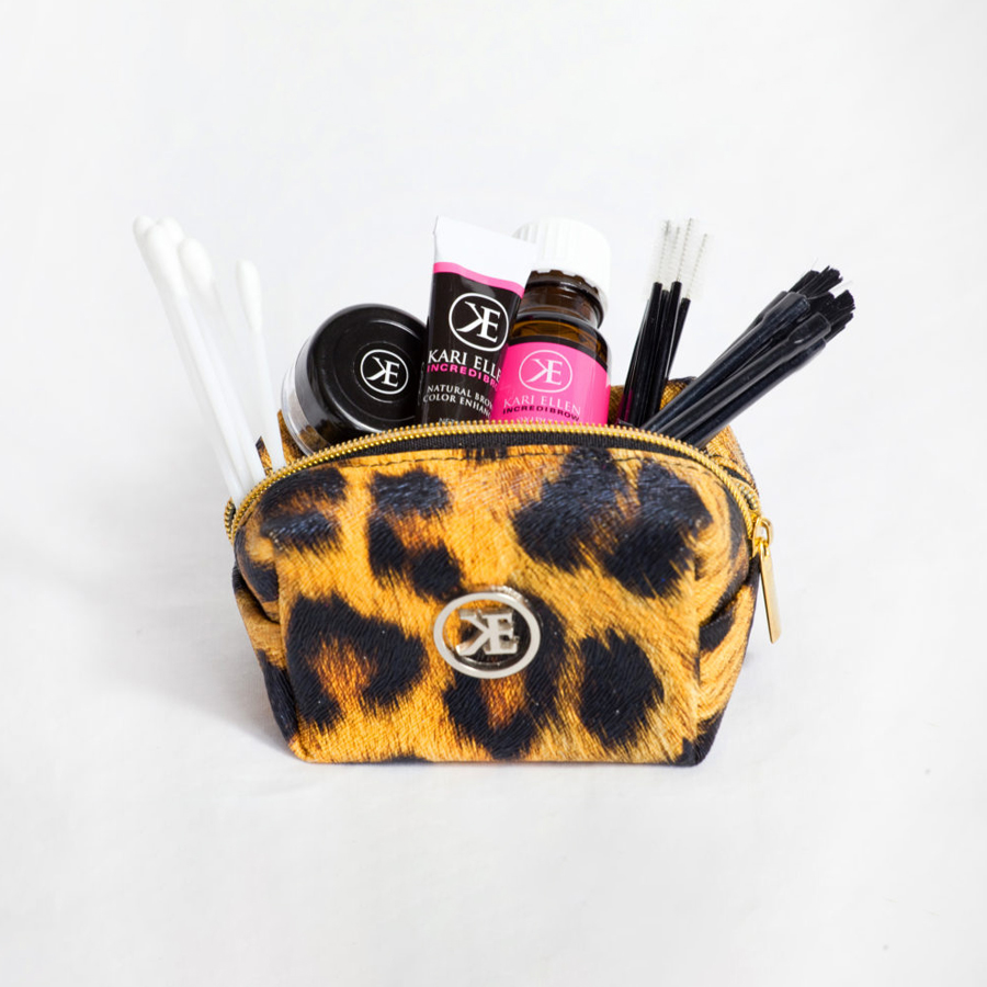 Makeup Bag Leopard